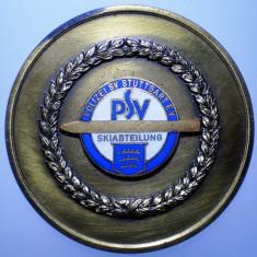 5.187 GERMANIA MEDALIE POLITIE POLIZEI STUTTGART SCHI 1966 40mm, Europa