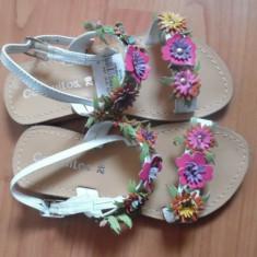 Sandale copii piele masura 28, Conguitos, aproape noi., Culoare: Multicolor, Fete