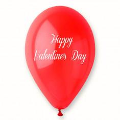"Baloane latex rosii inscriptionate ""Happy Valentine's Day"", Radar GI.LOVE.RED.T3, Cadouri Valentine`s Day"