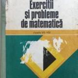 Grigore gheba exercitii si probleme de matematica - Carte Matematica