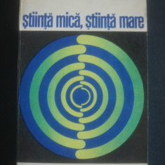 DEREK J. SOLLA PRICE - STIINTA MICA, STIINTA MARE
