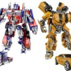 Set roboti transformers OPTIMUS PRIME si BUMBLEBEE