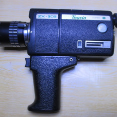 Camera aparat filmat super 8 mm japonez zx-303 vechi 1970 functional
