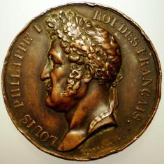 5.185 FRANTA MEDALIE LOUIS PHILIPPE I NAPOLEON 1833 41mm, Europa