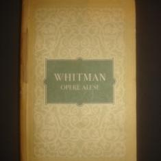 WHITMAN - OPERE ALESE - Roman