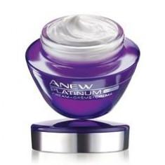 Crema fata antirid pentru noapte Avon Platinum, 50 ml - Crema antirid