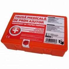 Trusa medicala de prim ajutor Ro Group, 21 piese - Trusa auto prim ajutor