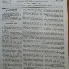 Reforma, ziar politicu, juditiaru si litteraru, an 2, nr. 51, 1860