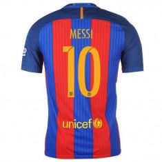 Tricou BARCELONA model 2016-2017, NR 10 MESSI - Tricou echipa fotbal, Marime: M, S, XS, Culoare: Din imagine, Nationala, Maneca scurta