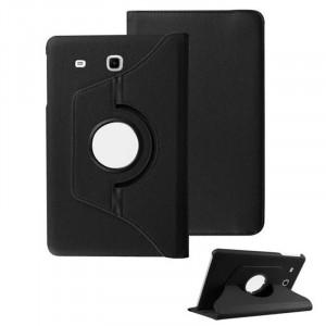 Husa Samsung Galaxy Tab E T560 Rotativa 360 Black