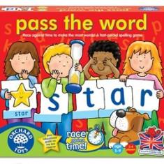 Joc educativ in limba engleza Scrie corect contra cronometru PASS THE WORD orchard toys