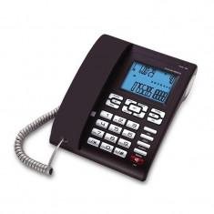 Telefon cu fir 6025 Concorde, LCD, Negru - Telefon fix