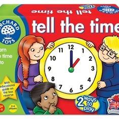 Joc educativ loto in limba engleza Citeste ceasul TELL THE TIME orchard toys