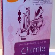 EXERCITII, PROBLEME SI JOCURI DE CHIMIE PENTRU GIMNAZIU de LUMINITA IRINEL DOICIN ... SILVIA GIRTAN, 2014 - Carte Chimie