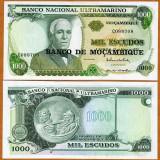 !!! MOZAMBIC - 1.000 ESCUDOS (1976) - P 119 - UNC - bancnota africa