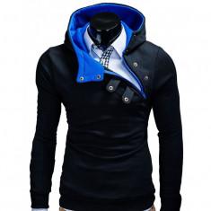 Hanorac barbati PACO albastru, Marime: S, M, L, XL, XXL, Bumbac