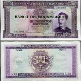 !!! MOZAMBIC - 500 ESCUDOS (1976) - P 118 - UNC - bancnota africa