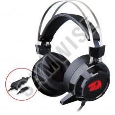 * NOU * NOU * NOU * Casti Gaming Redragon Siren 2 Black, GARANTIE 1 AN!!!! - Casca PC, Casti cu microfon, USB