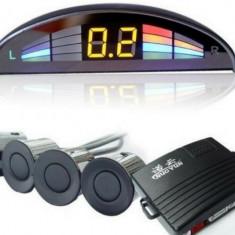 Senzori de parcare cu LED si averizare sonora - 8 senzori - Senzor de Parcare