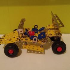 Jeep metal DIY, kit constructie/asamblare automobil, fara cutie - Set de constructie