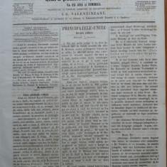 Reforma, ziar politicu, juditiaru si litteraru, an 2, nr. 48, 1860