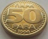 Moneda 50 PARA - YUGOSLAVIA, anul 1994  *cod 2610