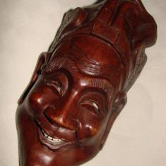 Frumoasa sculptura in lemn de esenta exotica