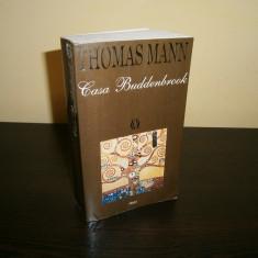 Thomas Mann-Casa Buddenbrook, editura RAO!