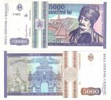 Cumpara ieftin SV * Romania   BNR   5000  LEI  1993  mai  *  Avram Iancu       UNC