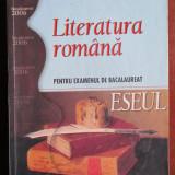 Literatura romana pentru examenul de bacalaureat. Eseul - Carte educativa
