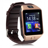 Ceas SmartWatch DZ09 GSM SIM bluetooth , ANDROID, IOS CADOUL PERFECT SDcard, CAM, Otel inoxidabil, Tizen Wear