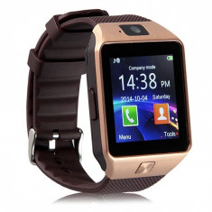 Ceas SmartWatch DZ09 GSM SIM bluetooth, ANDROID, IOS CADOUL PERFECT SDcard, CAM, Otel inoxidabil, Tizen Wear