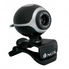 Camera web cu microfon NGS, senzor CMOS - Webcam