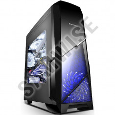 * NOU * NOU * NOU * Carcasa Gaming Segotep Sprint Black MiddleTower GARANTIE!!! - Carcasa PC