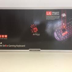 Tastatura Gaming A4Tech Bloody B314, Cu fir, USB, Tastatura iluminata