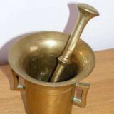 Mojar 12 Cm Bronz Cu Pistil 18 Cm -- 1 600 G