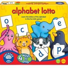 Joc educativ loto in limba engleza Alfabetul ALPHABET LOTTO orchard toys