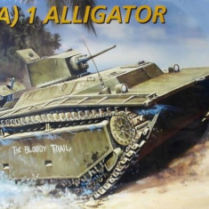 + Macheta 1/35 Italeri 6384 - LVT-(A)1 Alligator + - Macheta auto