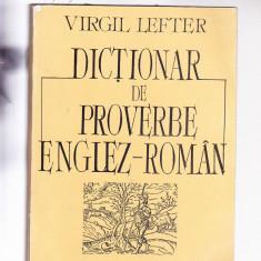Dictionar Altele DE PROVERBE ENGLEZ -ROMAN