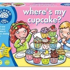 Joc educativ in limba engleza Briosa WHERE'S MY CUPCAKE? orchard toys