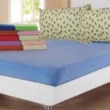 Set 2 perne din puf de gasca + husa de pat cu 2 fete de perna