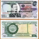 !!! MOZAMBIC - 50 ESCUDOS (1976) - P 116 - UNC - bancnota africa