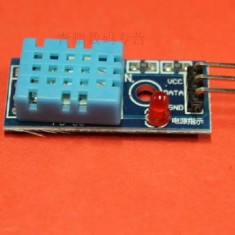 Senzor temperatura umiditate DHT11 pe placa