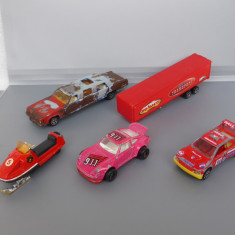 Lot 5 machete, Majorette - Macheta auto Matchbox