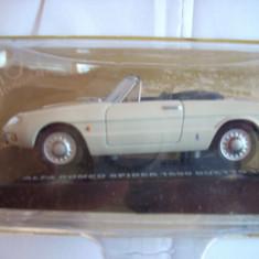 Macheta ALFA ROMEO SPIDER 1600 DUETTO - 1966 1:43 - Macheta auto