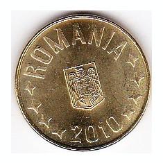 1 ban 2010 din fisic BNR a.UNC/UNC rog cititi descrierea - Moneda Romania