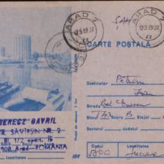 Intreg postal CP 1988 circulat - Statiunea Venus - Hidrobiciclete