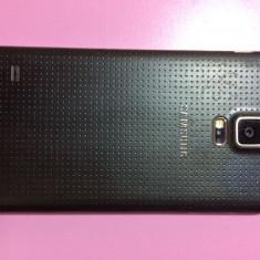 Telefon - Telefon mobil Samsung Galaxy S5, Negru, 16GB, Neblocat, Single SIM