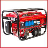 Generator Curent Electric-POWERTECH-12V/220/380V-3kW-PORNIRE LA CHEIE
