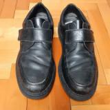 Pantofi din piele naturala Rieker, talpic AntiStress; marime 46 (30,5 cm talpic)